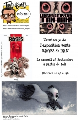 Vernissage RAGES de Dan