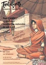 Dédicace de Fred Campoy