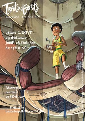 Dédicace de James Christ