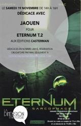 Dédicace Jaouen pour Eternum