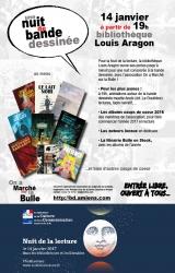 La Nuit de la lecture en bande dessinée