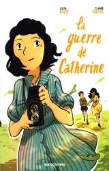 Dédicace Claire Fauvel pour La Guerre de Catherine