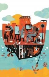 L'escale, l'exposition des auteurs en résidence
