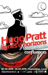 Exposition Hugo Pratt, lignes d'horizons