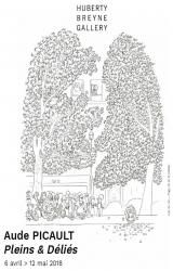 Exposition Aude Picault, Pleins et Déliés