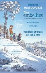 Marie Duvoisin en dédicace vendredi 30 mars pour « Nos embellies »  - Librairie Matière Grise