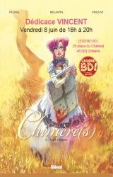Vincent en dédicace vendredi 8 juin pour « Chimère(s) 1887 » tome 6  - Librairie Legend BD