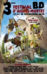 FESTIVAL DE LA BD D'AIGUES-MORTES