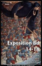 Exposition BD 14-18 avec Etienne Le Roux
