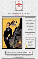Rencontre-dédicace Max T1 (Ruben del Rincon, Salva Rubio) à l'institut Cervantes de Paris