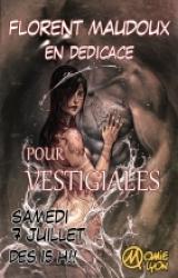 Dédicace de Florent Maudoux pour Vestigiales !