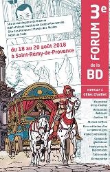 3e forum de la BD à Saint-Rémy-en Provence