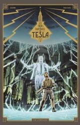 Guilhem Bec dédicace Les 3 Fantômes de Tesla