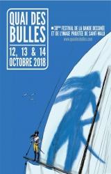 Festival Quai des Bulles 2018 à Saint-Malo