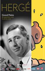 Exposition Hergé au Grand Palais !