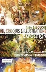 Exposition // Cédric Babouche « Le chant du Cygne »