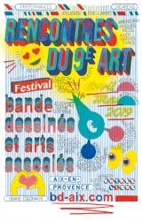 Festival BD Rencontres du 9e art 2019 - Aix en Provence