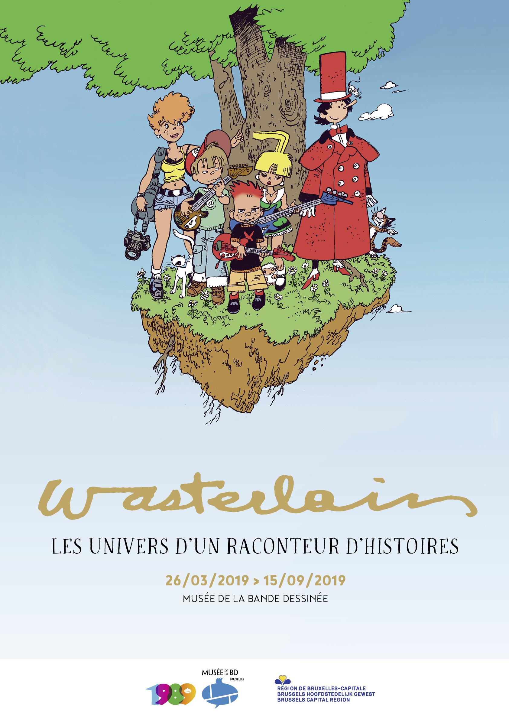 Expo Wasterlain au musée de la BD de Bruxelles