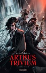 Juan-Luis LANDA dédicace le T.4 de la série Arthus Trivium