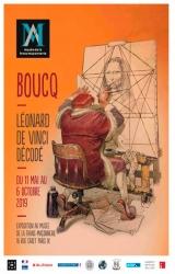 Boucq : Léonard De Vinci décodé !