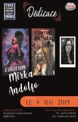 Mirka Andolfo en Dédicace !
