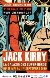 Rétrospective Jack Kirby à Cherbourg