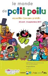 Exposition jeunesse le monde de Petit Poilu