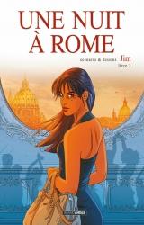 Jim dédicace le 3e tome de la série Une Nuit à Rome