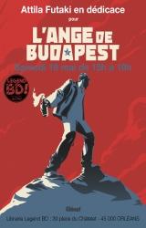 Attila Futaki en dédicace samedi 18 mai pour «L'ange de Budapest» - Librairie Legend BD