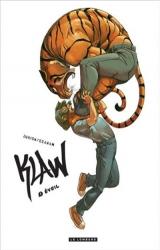 Joël Jurion en dédicace pour la série Klaw à la librairie Glénat !