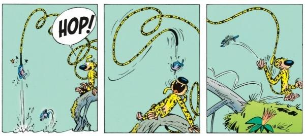 Extrait de Spirou et Fantasio T.12