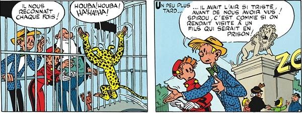 Extrait de Spirou et Fantasio T.5