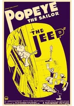 Le 62e épisode de Popeye, 1938, où apparaît le