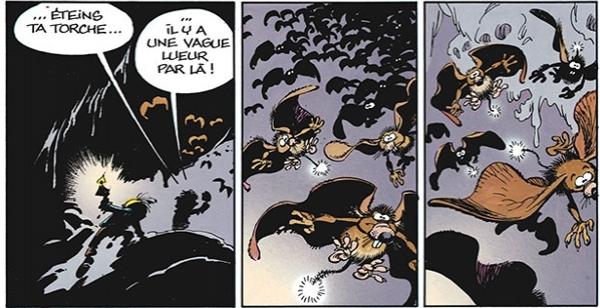 Extrait de Spirou et Fantasio T.41