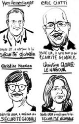 Loi Sécurité Globale: Des dessinateurs dénoncent les 388 députés avec leurs portraits