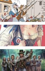 Le 14 juillet en bande dessinée